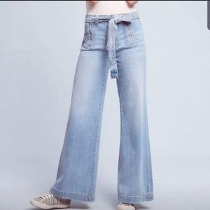 Anthropologie Pilcro High Rise Wide Leg Jeans
